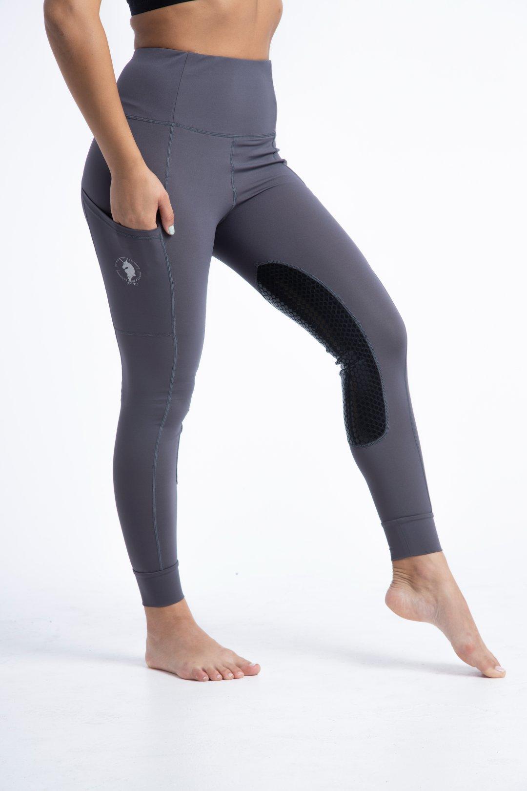 Venom Chrome Knee Patch (Grey)