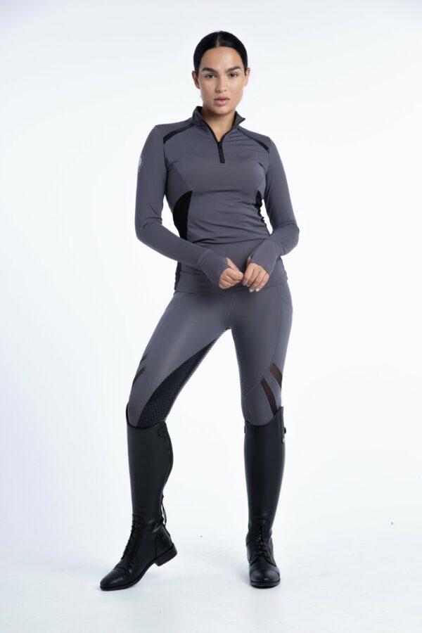 Venom Chrome Performance Top (Grey) + your choice of performance breeches set