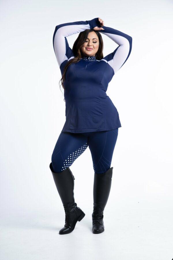 Daisy Sunshirt (Navy/Blue)